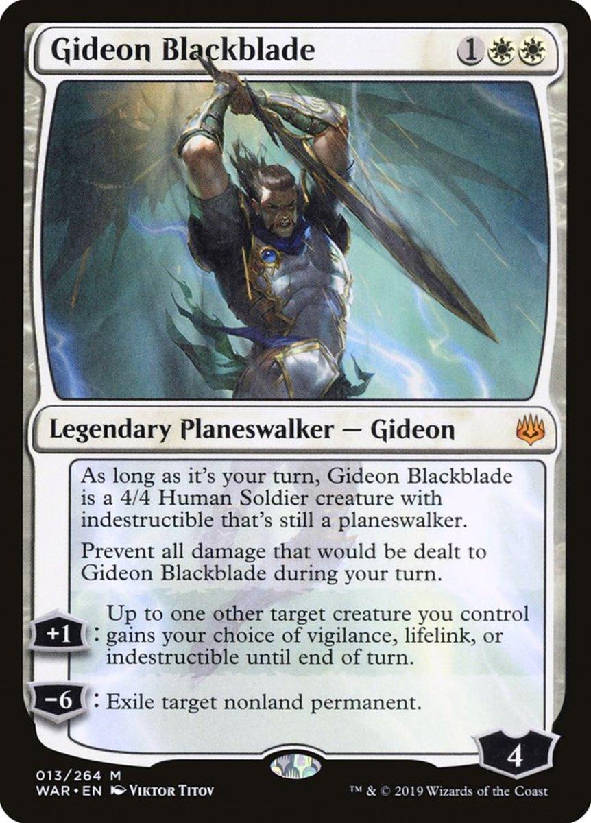 Gideon Blackblade mtg