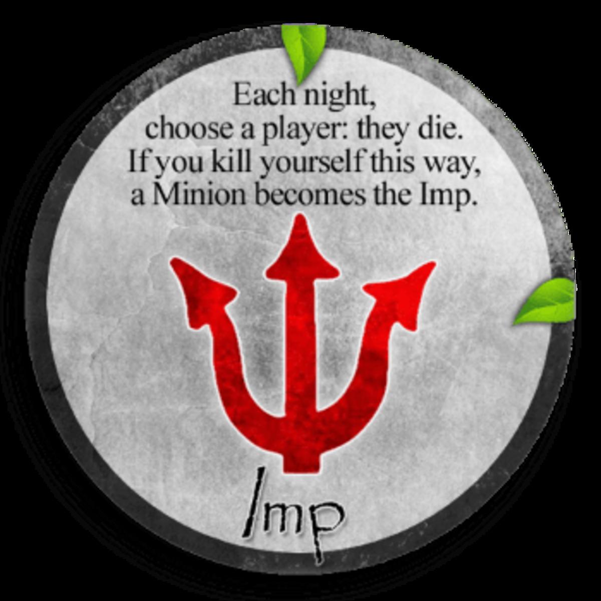 Clocktower's evil imp