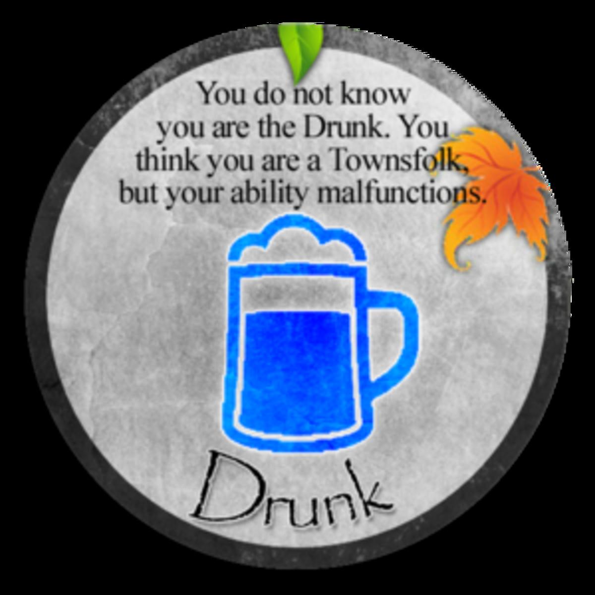 Clocktower's Drunk character