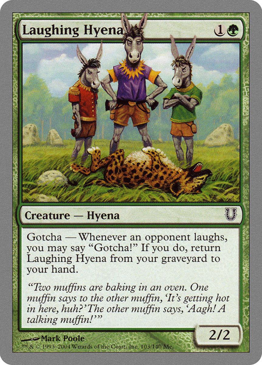 Laughing Hyena mtg