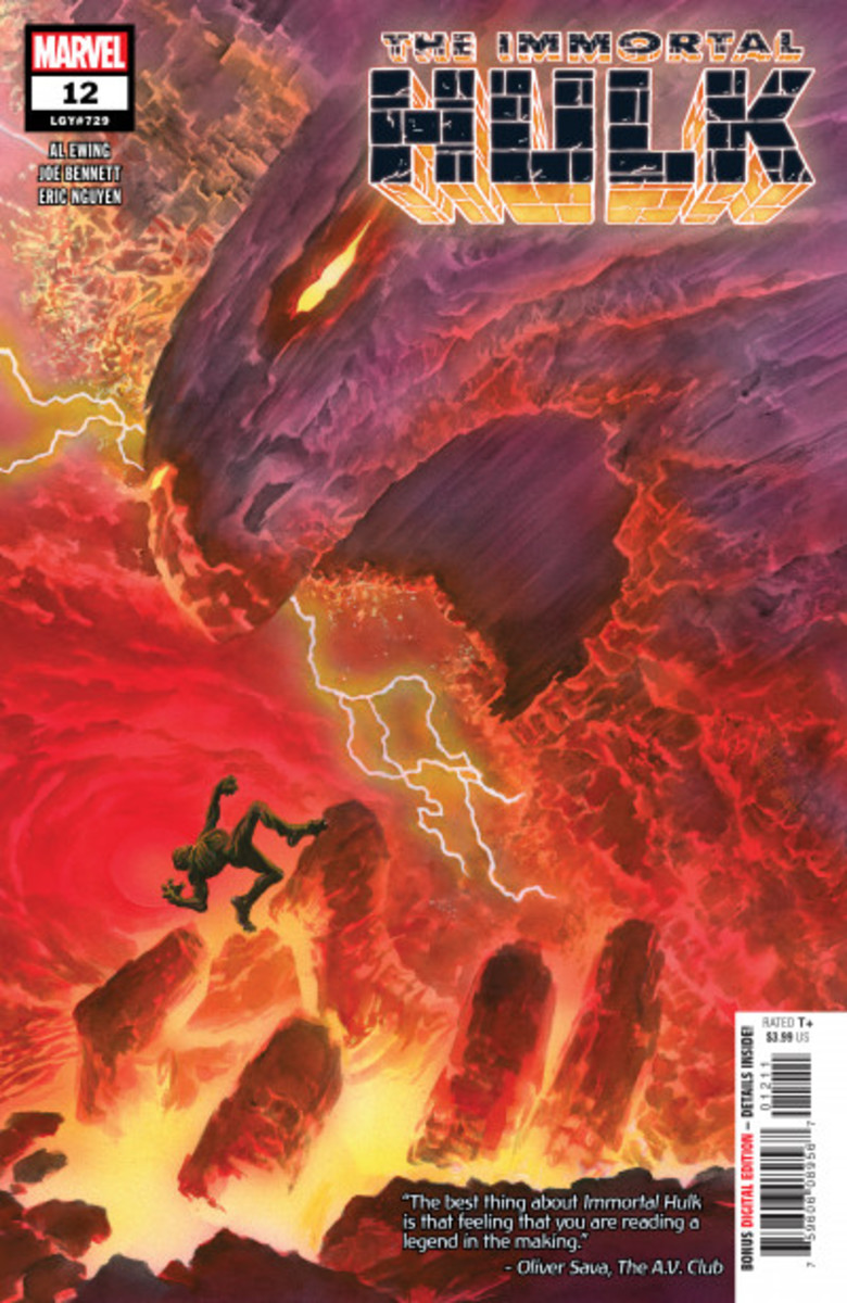 Cover art of issue 12 by Alex Ross.