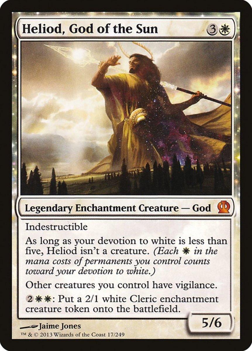 Heliod, God of the Sun mtg