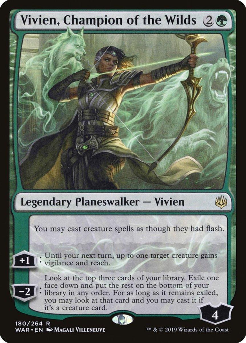 Vivien, Champion of the Wilds mtg