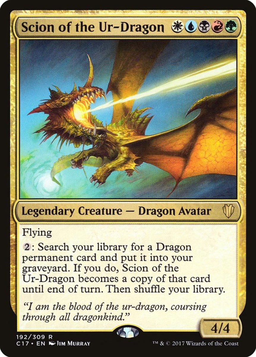Scion of the Ur-Dragon mtg