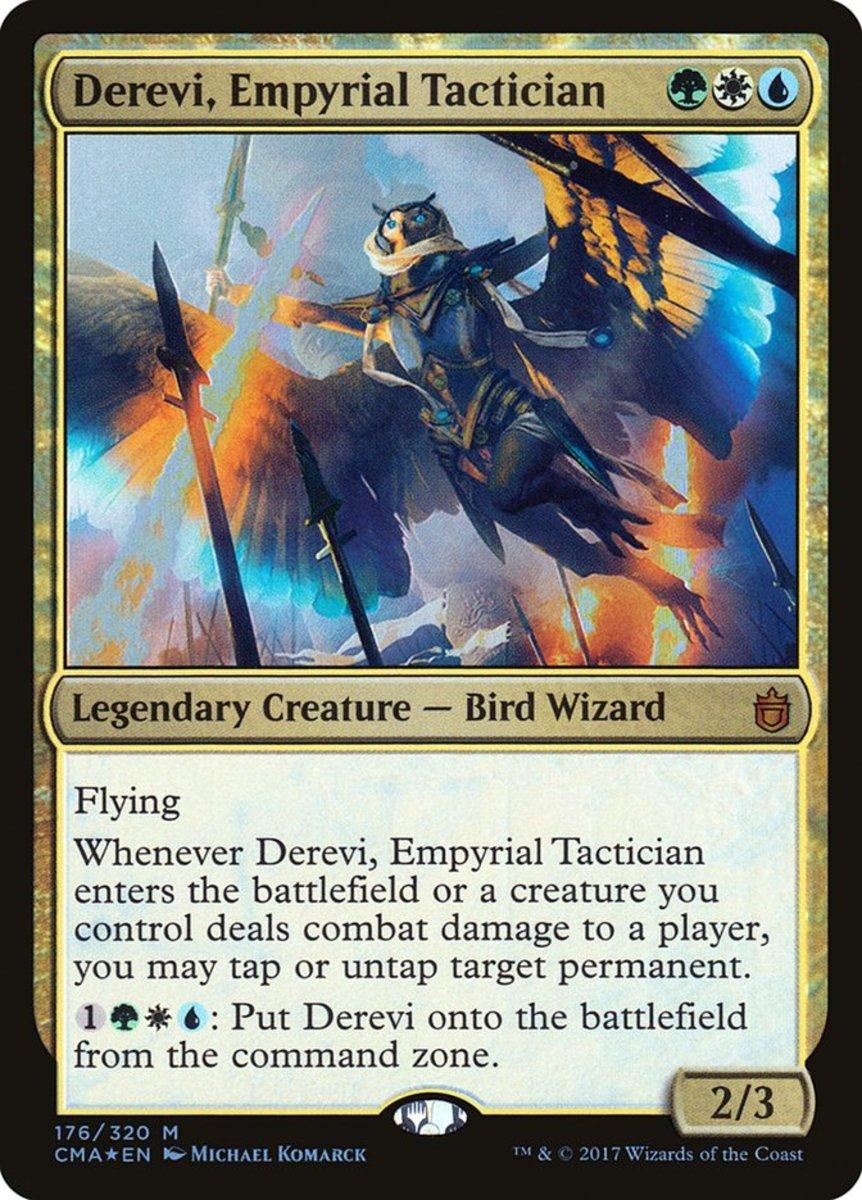 Derevi, Empyrial Tactician mtg