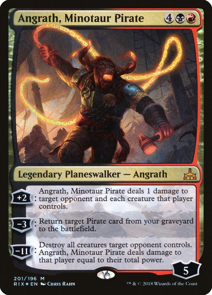 Angrath, Minotaur Pirate mtg
