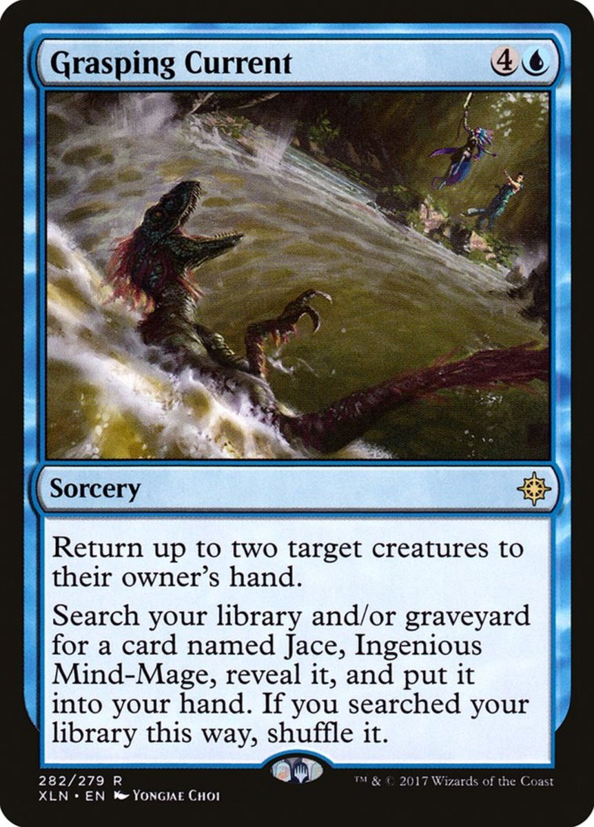 Grasping Current mtg