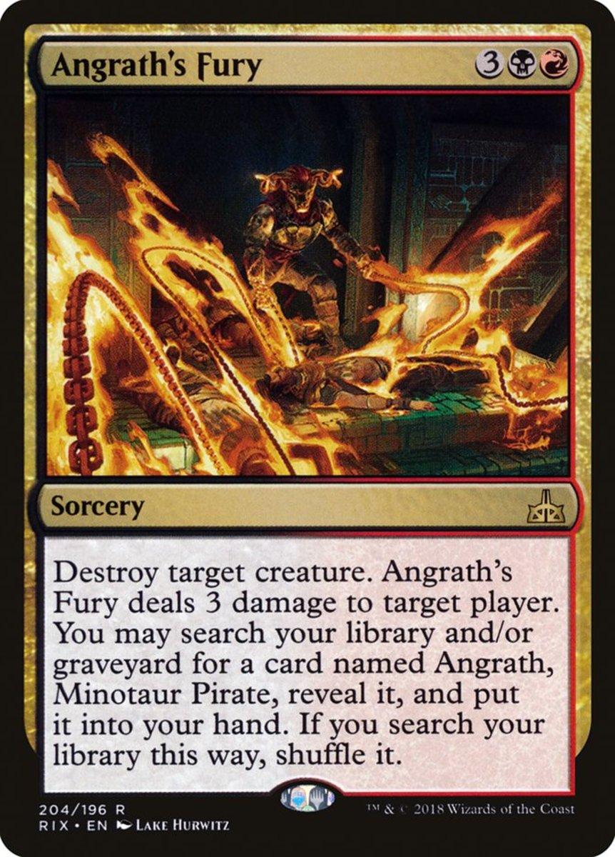 Angrath's Fury mtg