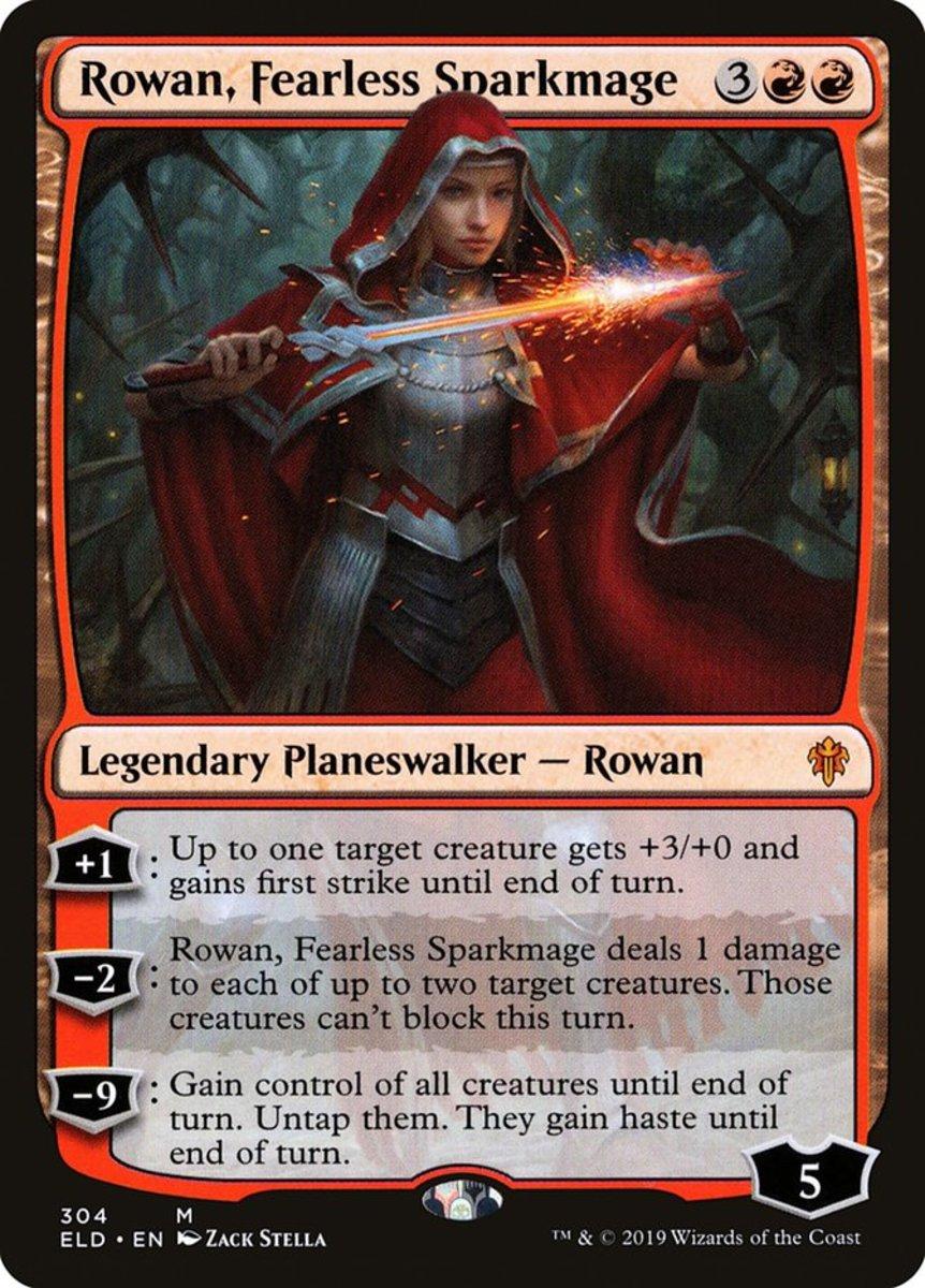 Rowan, Fearless Sparkmage mtg