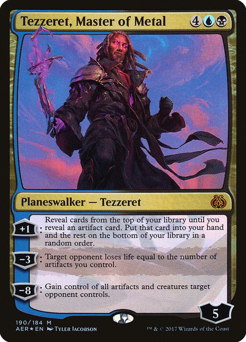 Tezzeret, Master of Metal mtg