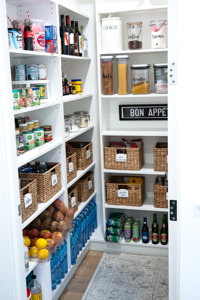 I love organizing. It not just makes your pantry looks in order but, you will feel calm and happy to see the result.