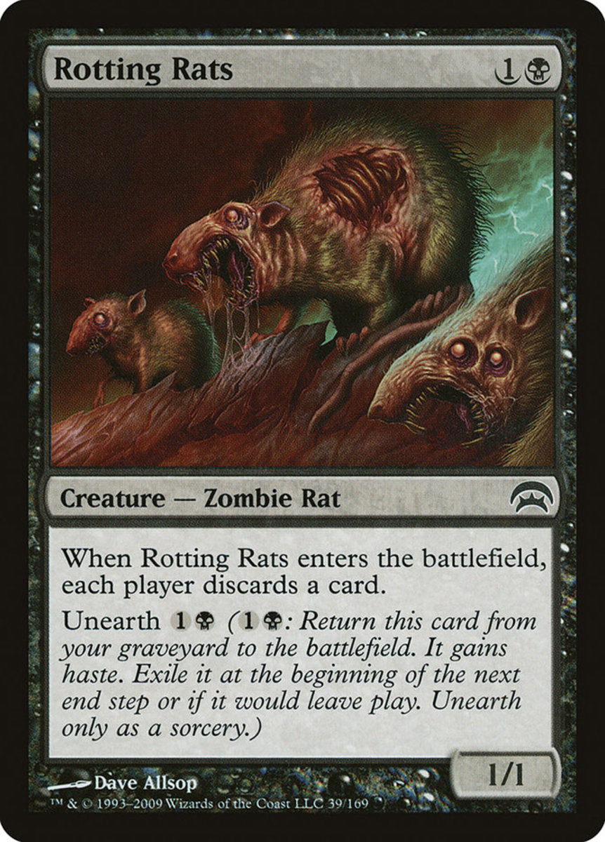 Rotting Rats mtg
