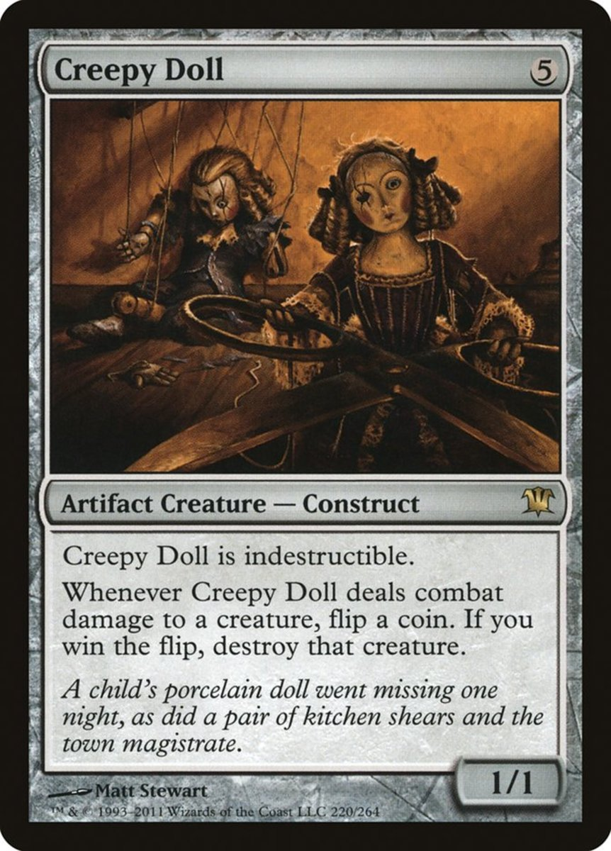 Creepy Doll mtg