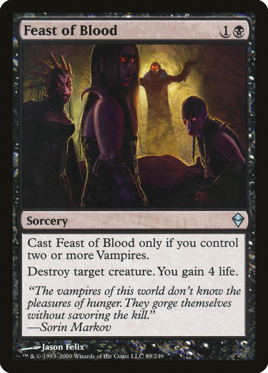 Feast of Blood mtg