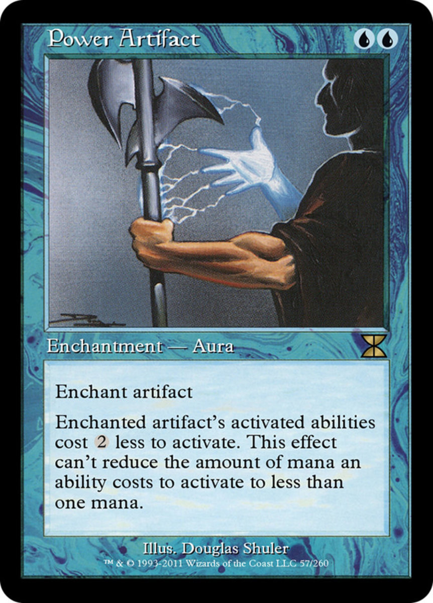 Power Artifact mtg