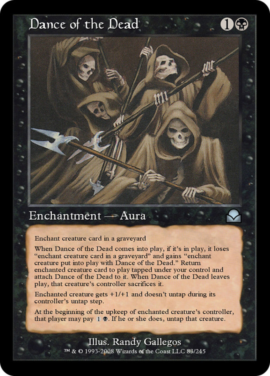 Dance of the Dead mtg
