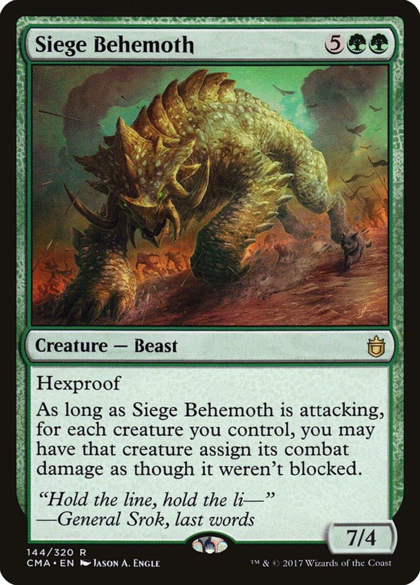 Siege Behemoth mtg