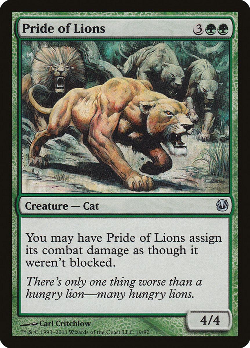 Pride of Lions mtg