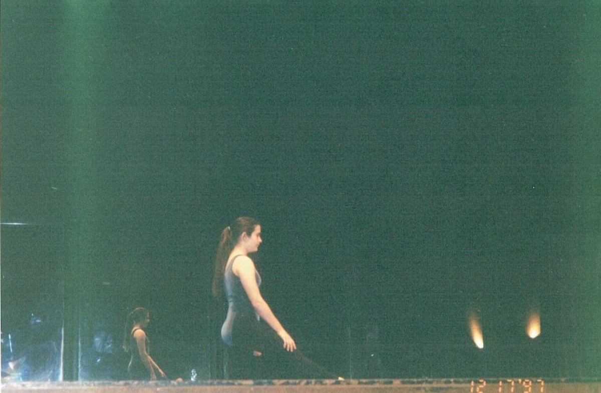 My very first dance performance, at 14 years old. I started dance when I took it for the first time as an elective in middle school.
