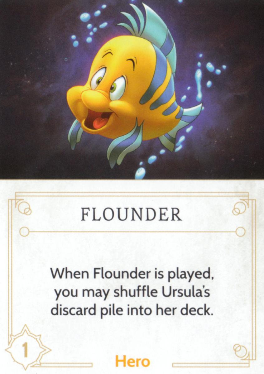 Flounder fate card