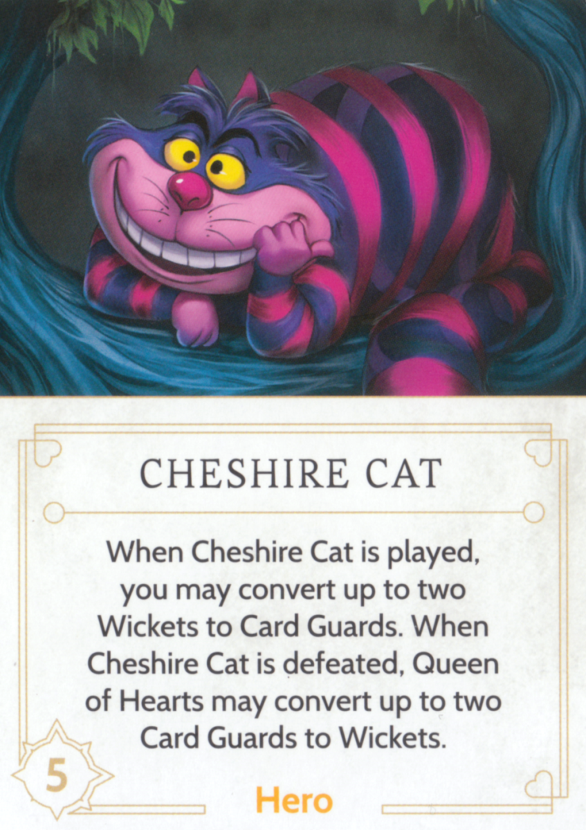 Cheshire Cat fate card
