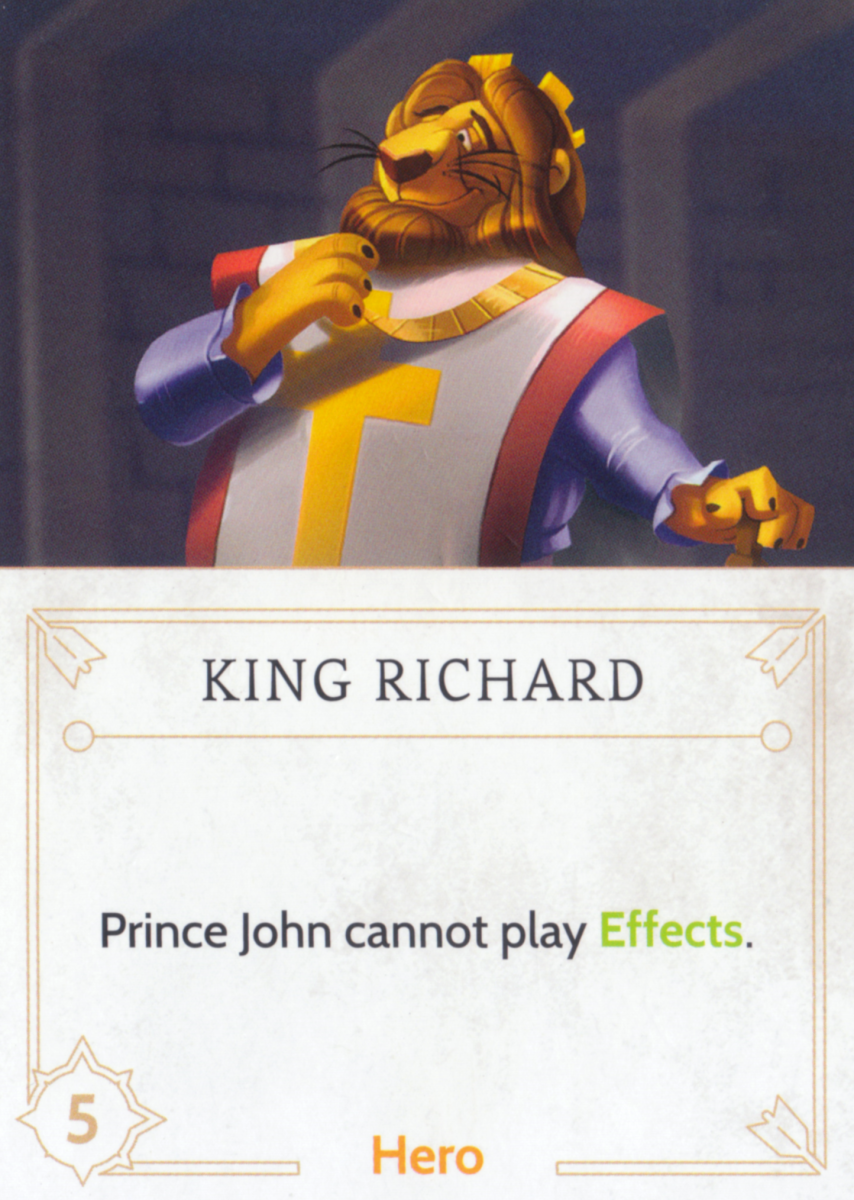 King Richard fate card