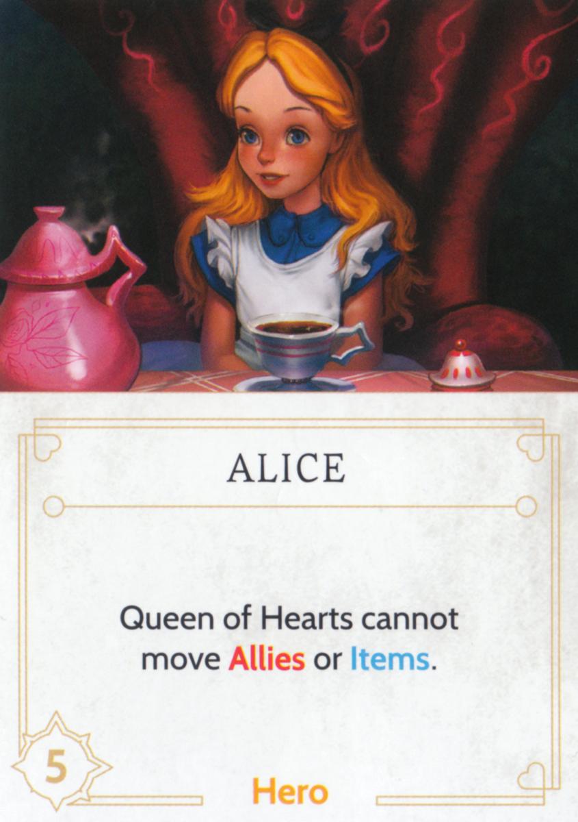 Alice fate card