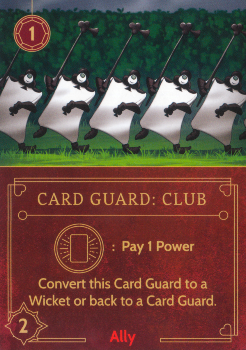 Card Guard (clubs) ally card