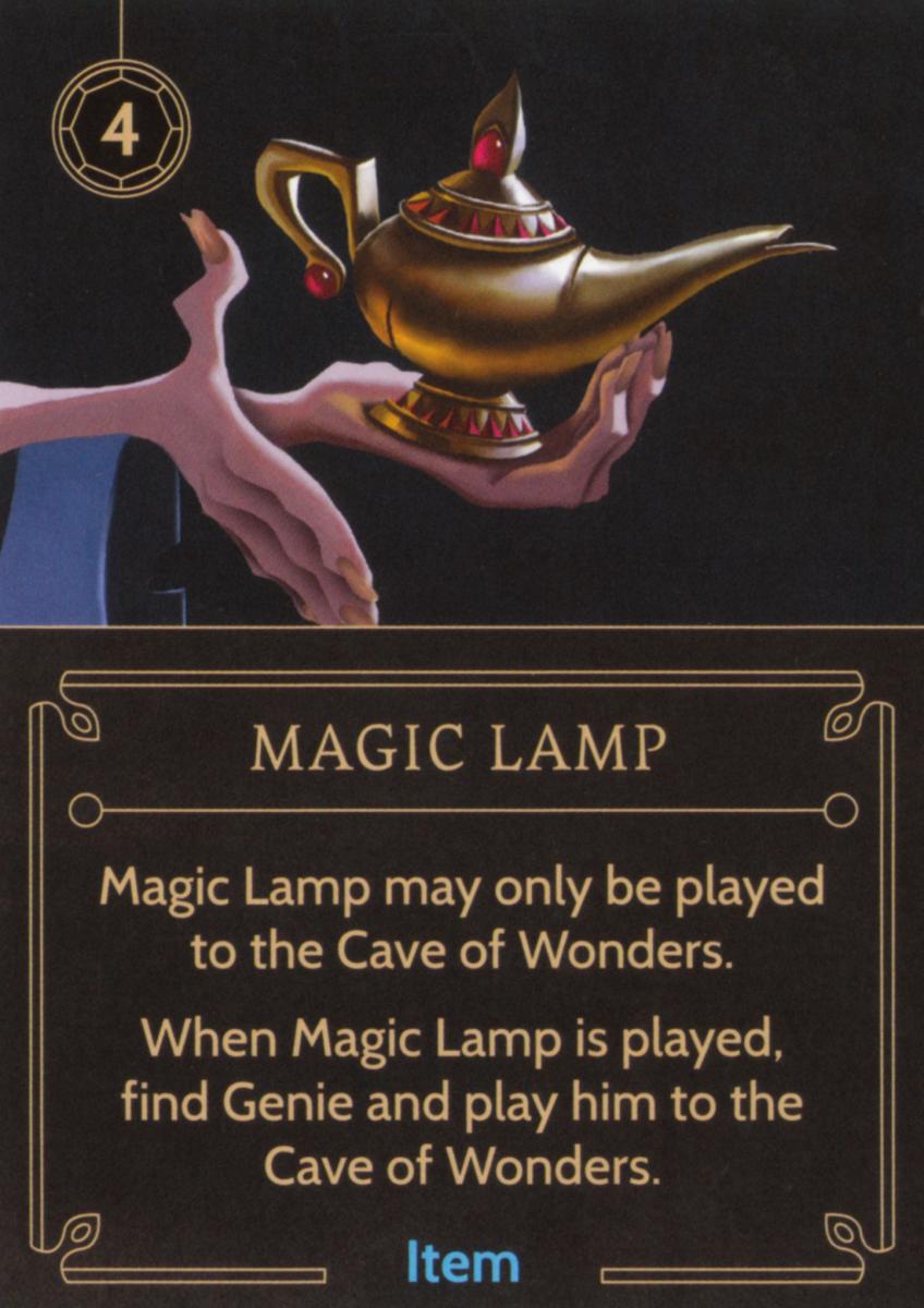 Magic Lamp item card