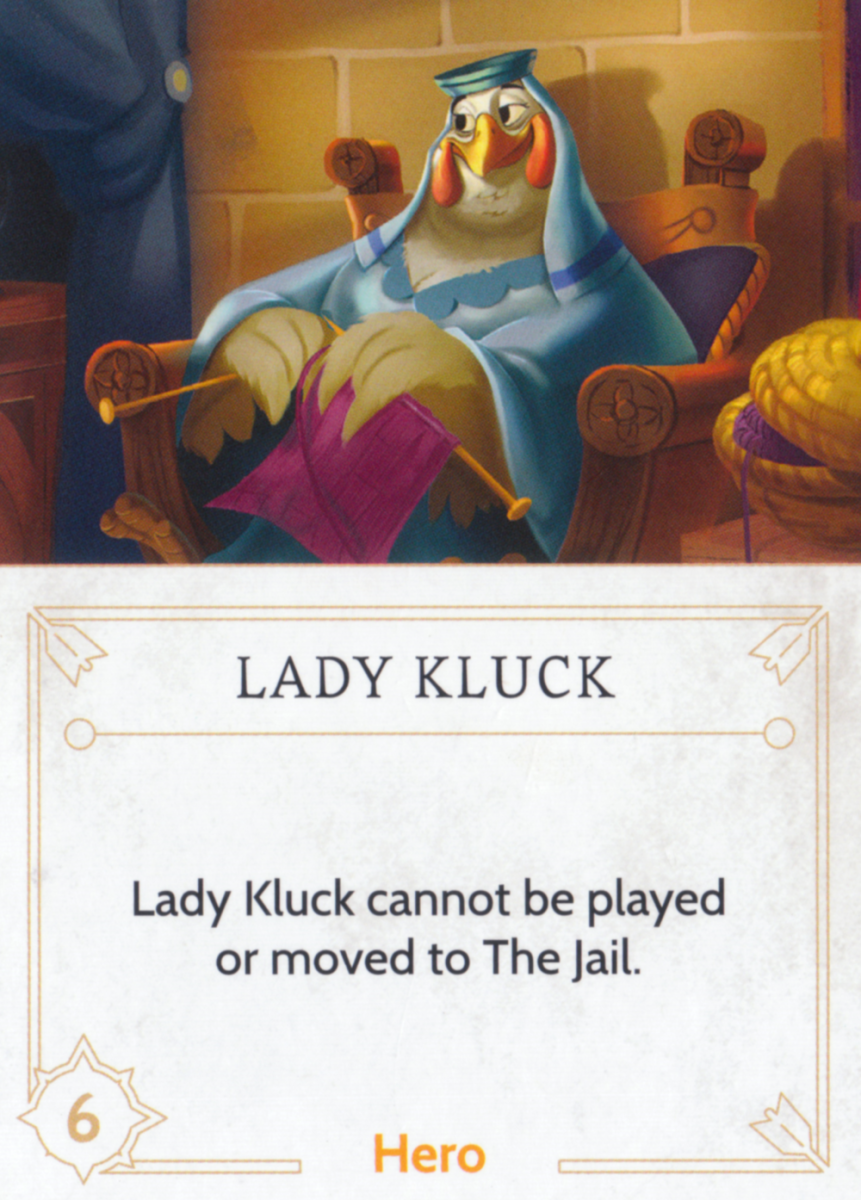 Lady Kluck fate card