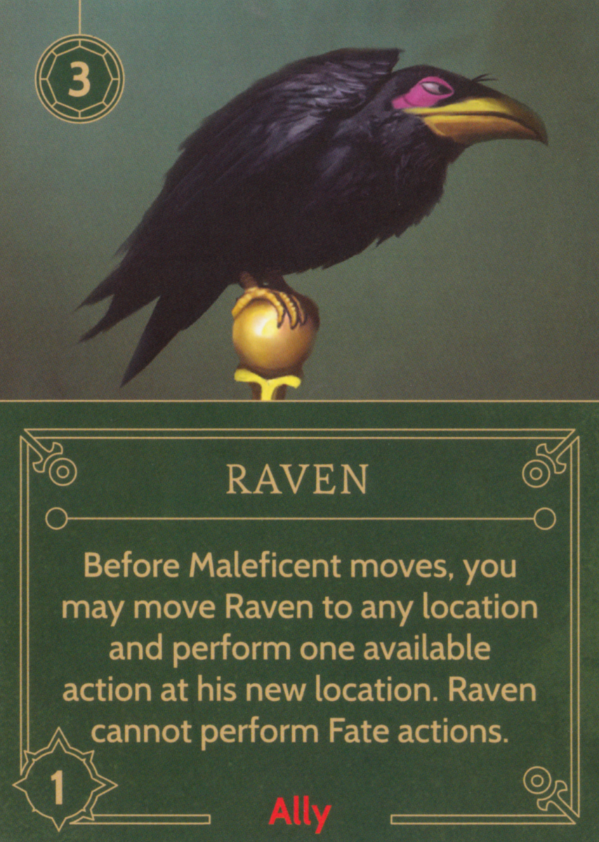 Raven ally card