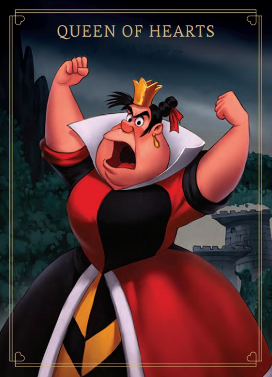 Queen of Hearts in Villainous
