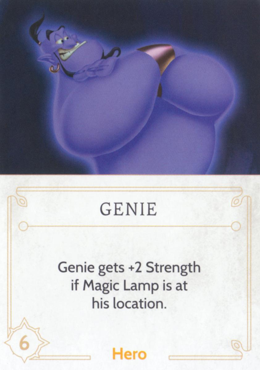 Genie fate card