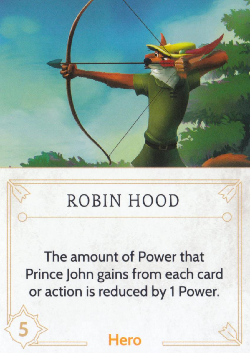 Robin Hood fate card