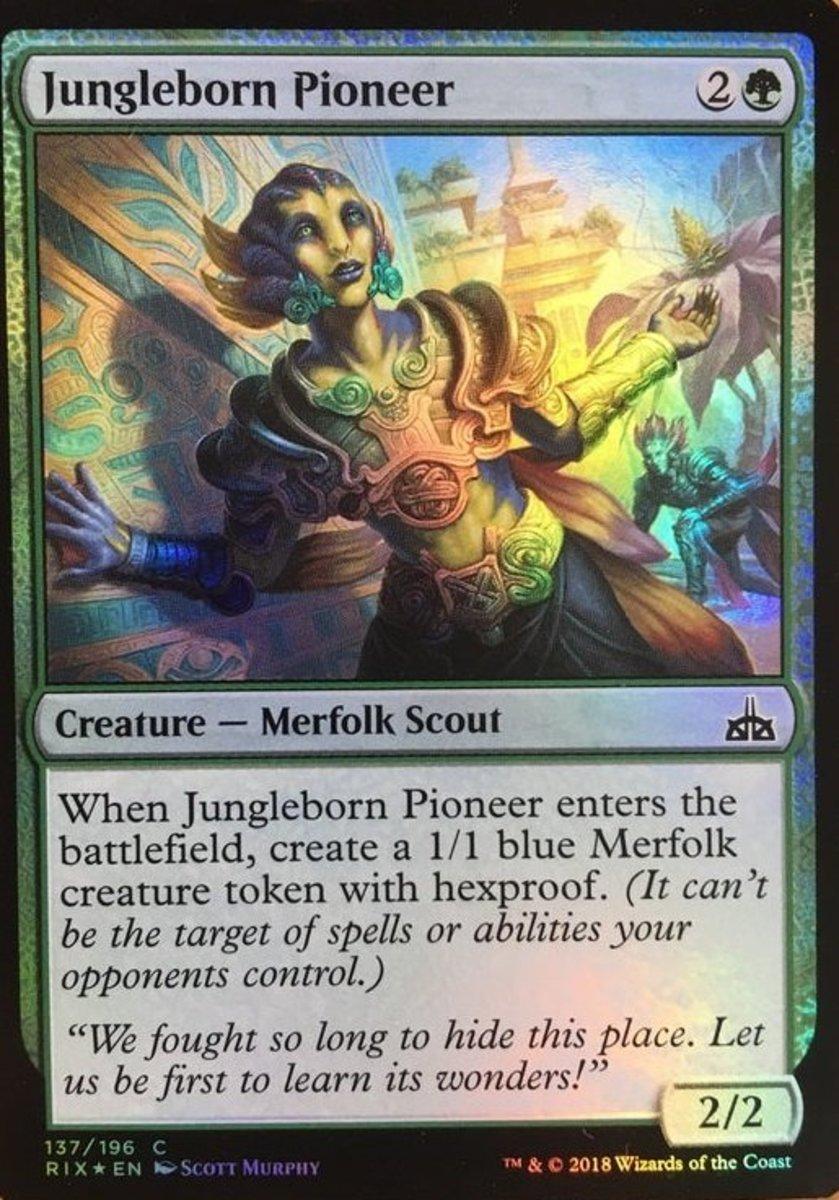 Jungleborn Pioneer foil