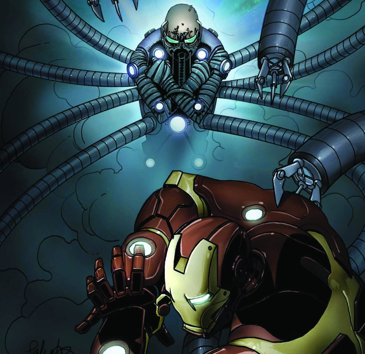 Doc Ock vs Iron Man