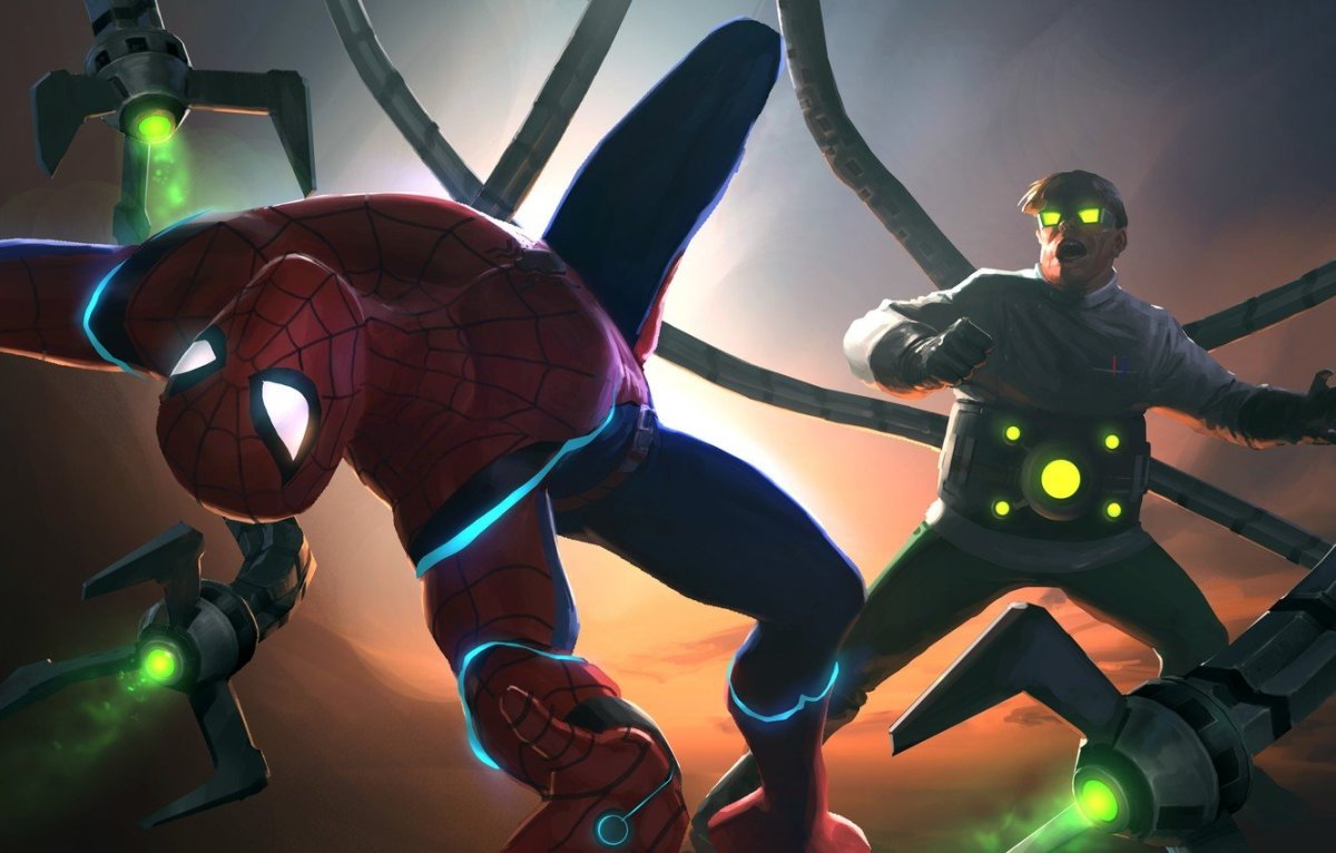 Doc Ock vs Spider-Man