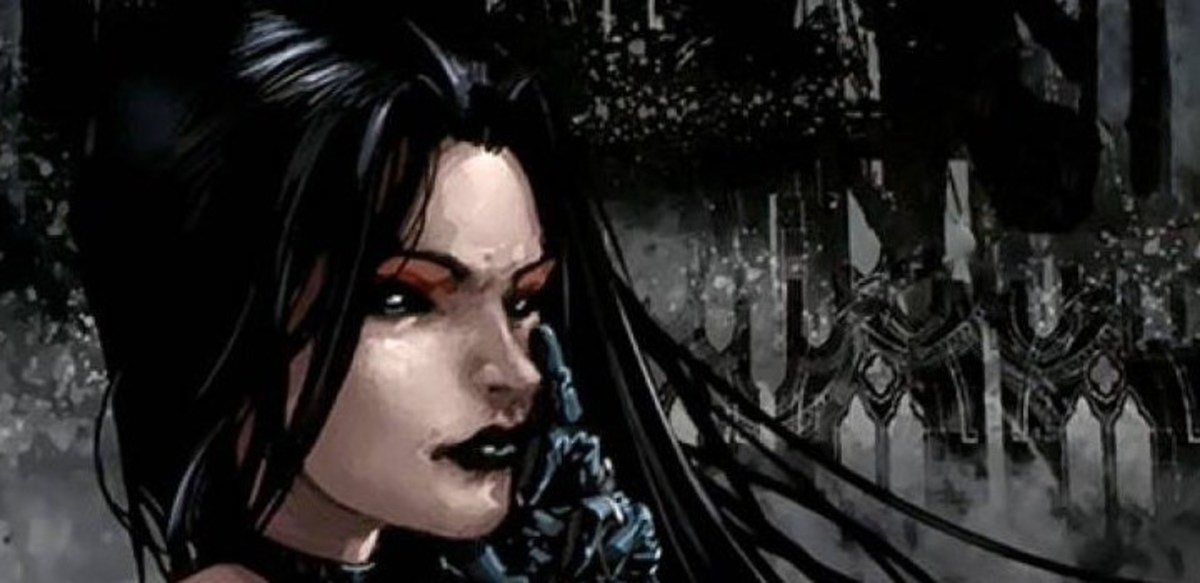 Selene, the Black Queen, is really old and really mean