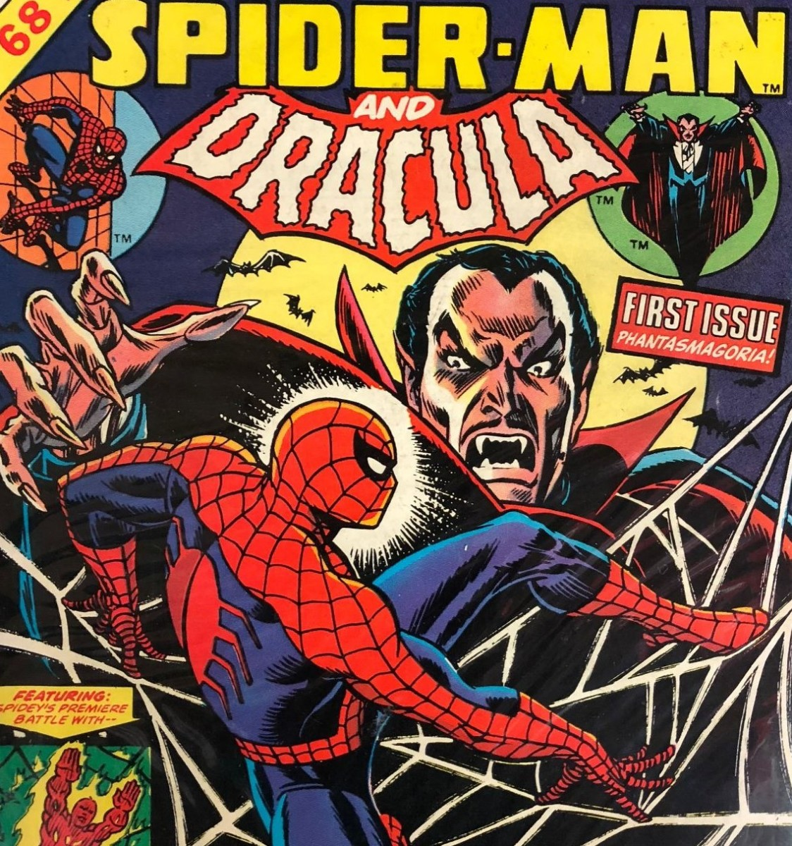 The cover of Giant-Size Spider-man and Dracula
