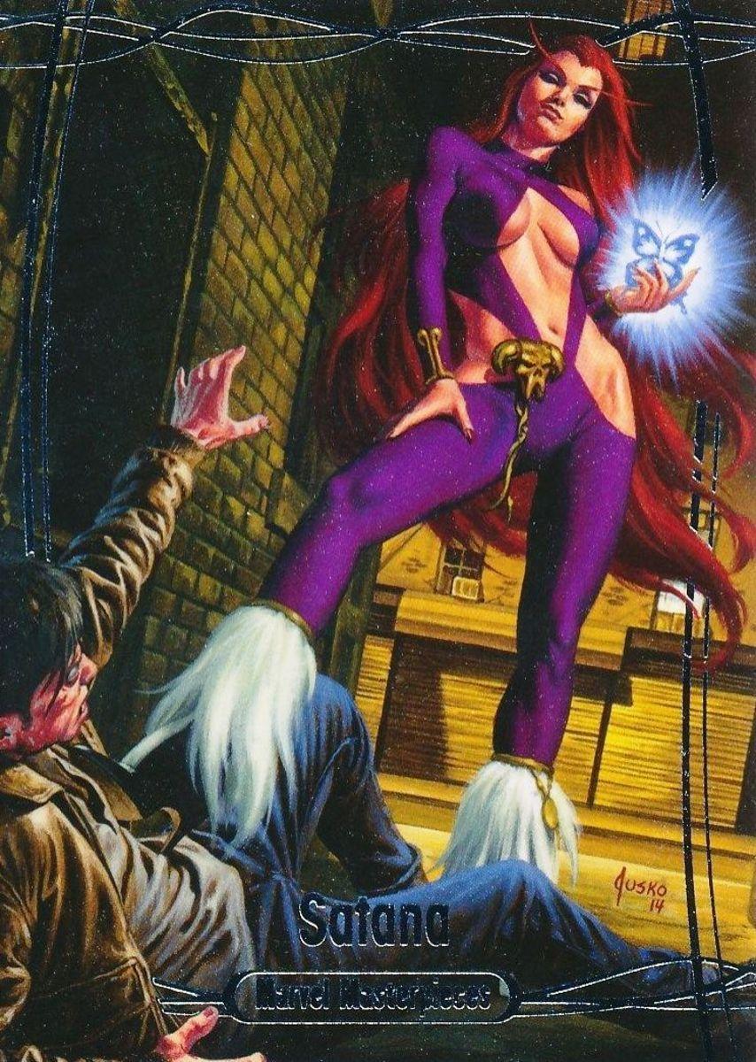 Satana Hellstrom, a succubus