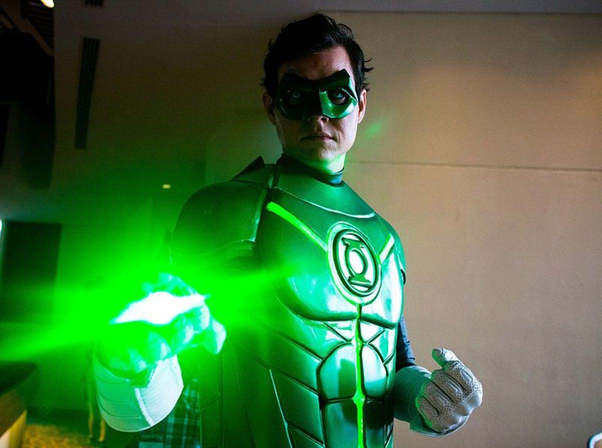 A Green Lantern