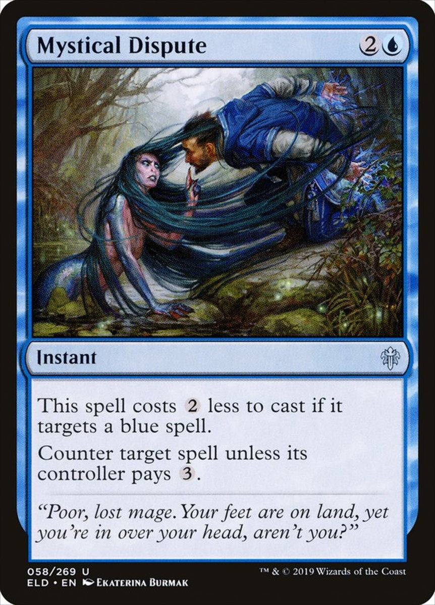 Mystical Dispute mtg