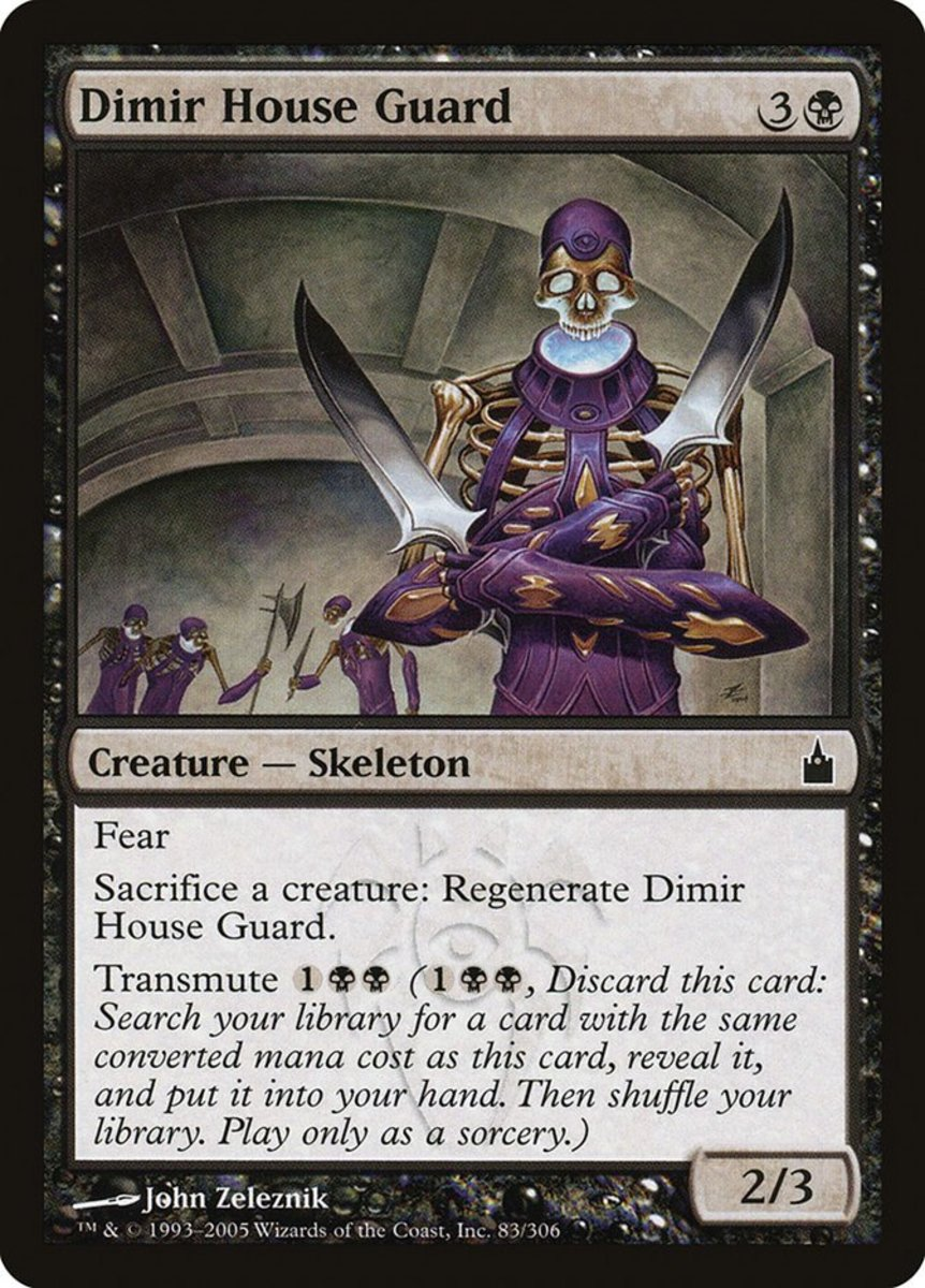 Top 10 Transmute Cards in Magic: The Gathering