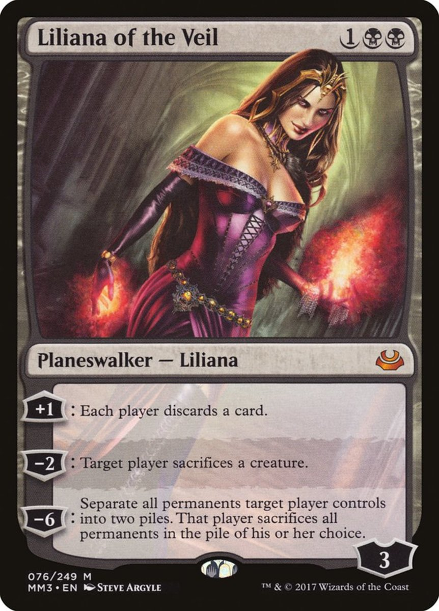 Liliana of the Veil mtg