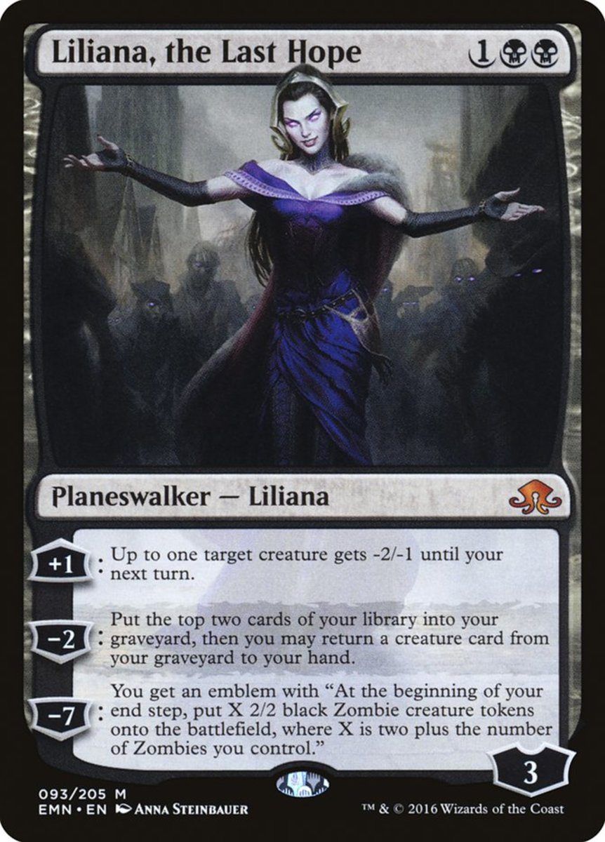 Liliana, the Last Hope mtg