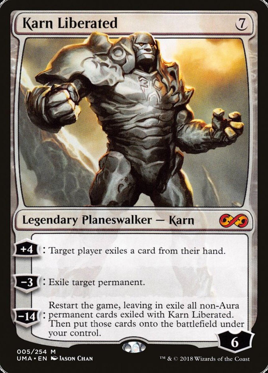 Karn Liberated mtg