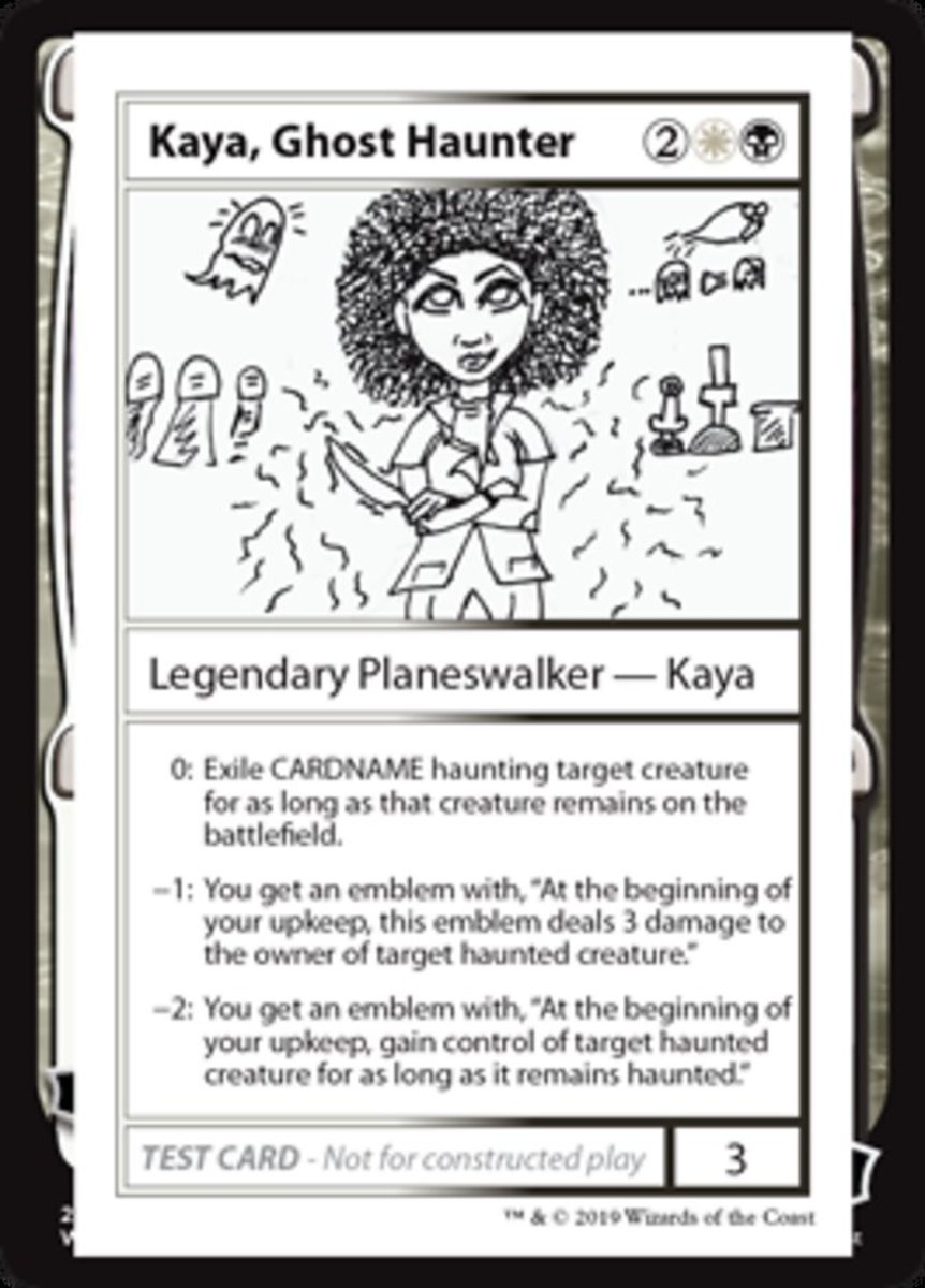 Kaya, Ghost Haunter mtg