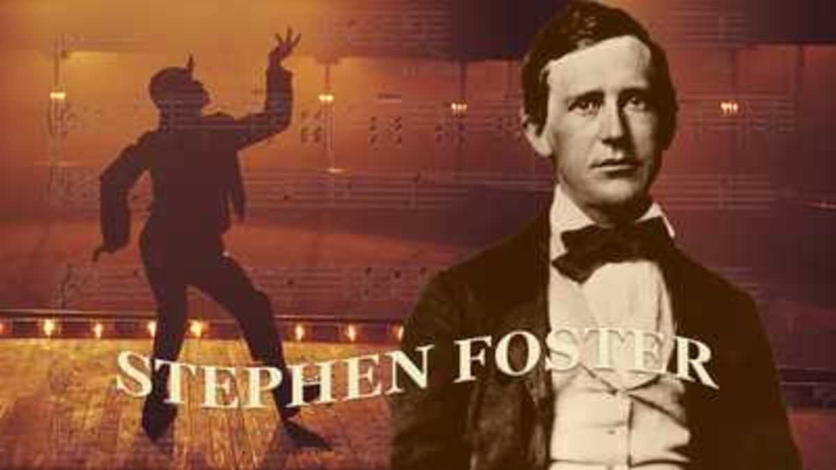 Stephen Foster—who lived during the 1800s—wrote over 200 songs, and is sometimes referred to as the father of American music.