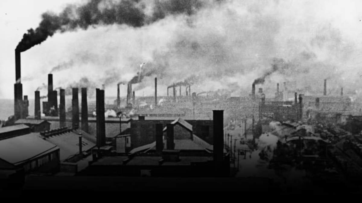 Industrial growth transformed American society during the 1800s. Many new industries—including petroleum refining, steel manufacturing, and electrical power—emerged.
