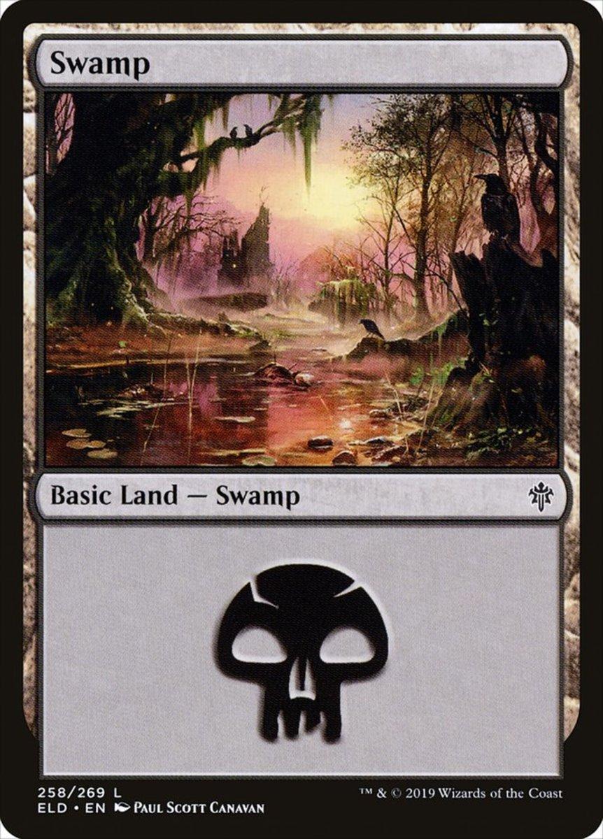 Throne of Eldraine Swamp